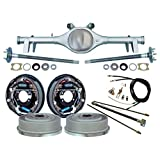 "Southwest Speed Rear Kit WITH CURRIE REAR END,11"" DRUM BRAKES,BRAKE LINES,PARKING BRAKE CABLES,AXLES, BEARINGS, FOR 1964,1965,1966 GM A-BODY CHEVELLE, EL CAMINO, MALIBU,SKYLARK, OLDS CUTLASS, 442"