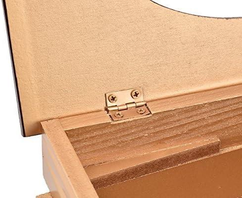 Marrone DSstyles Scatola di fazzoletti Retro Libro Tissue Holder in Tessuto di Carta Tissue Storage per la casa Decorazione