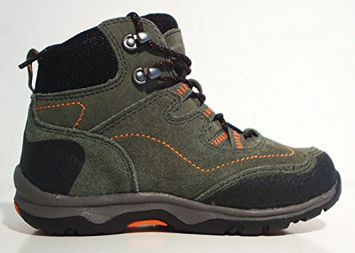 Kamik Outdoorschuhe Trekkingschuhe Halbschuhe grün Leder