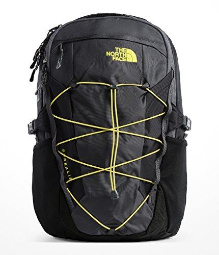 Daypack Spring - The North Face Borealis Backpack - Asphalt Grey & Sulphur Spring Green - OS