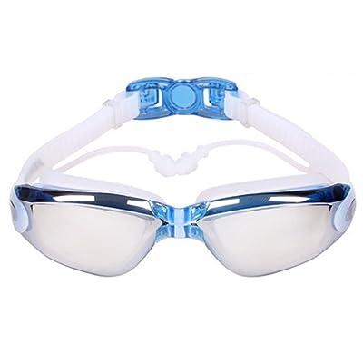 LE Lunettes de natation imperméables et anti-buée HD Masques de natation anti-buée anti-buée Homme et femme