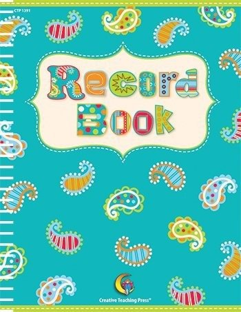 Creative Teaching Press Dots on Turquoise Record Book (Creative Teacher Press)