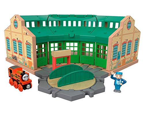 Friends Shed Thomas And - Thomas & Friends Fisher-Price Wood, Tidmouth Sheds