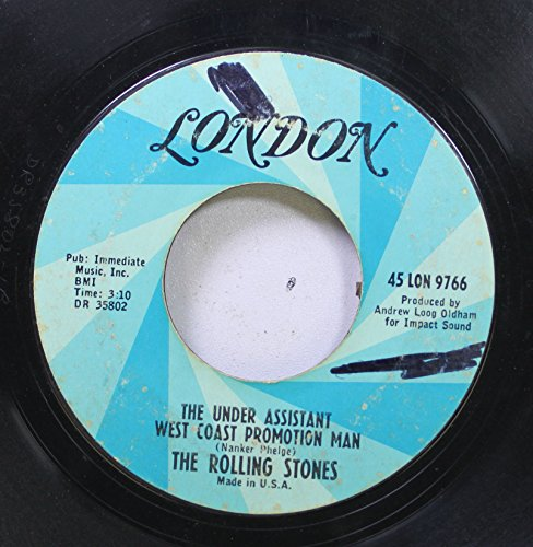 The Rolling Stones 45 RPM The Under Assistant West Coast Promotion Man / (I Can't Get No) Satisfaction