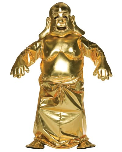 Golden Buddha Adult Costume