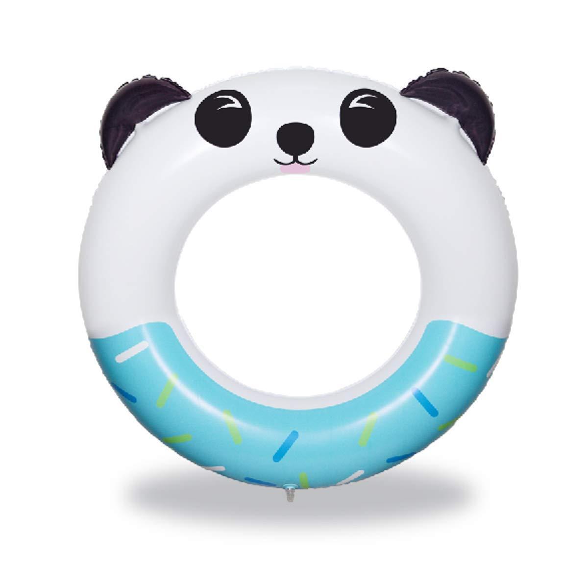 QUN FENG Panda Inflable Piscina Flotador Anillo de natación ...