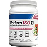 Modern ISO+ 20g of Refreshing, Delicious, Ultra-Pure Whey Protein Isolate Powder in Light Tasting, Clear Mixing Fruit…