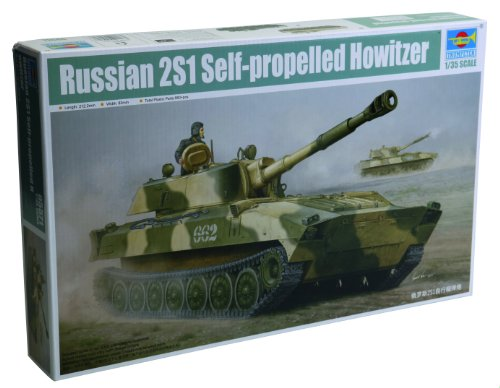 Trumpeter Russian 2S1 Self-Propelled Howitzer (1/35 Scale)