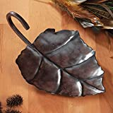 Center Gifts Beautiful And Luxurious Metal Leaf Decorative Candle Holder