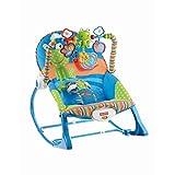 Fisher-Price Infant-to-Toddler Rocker, Blue/Orange/Green [Amazon Exclusive]