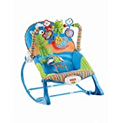 Fisher-Price Infant-to-Toddler Rocker, Frog [Amazon Exclusive]