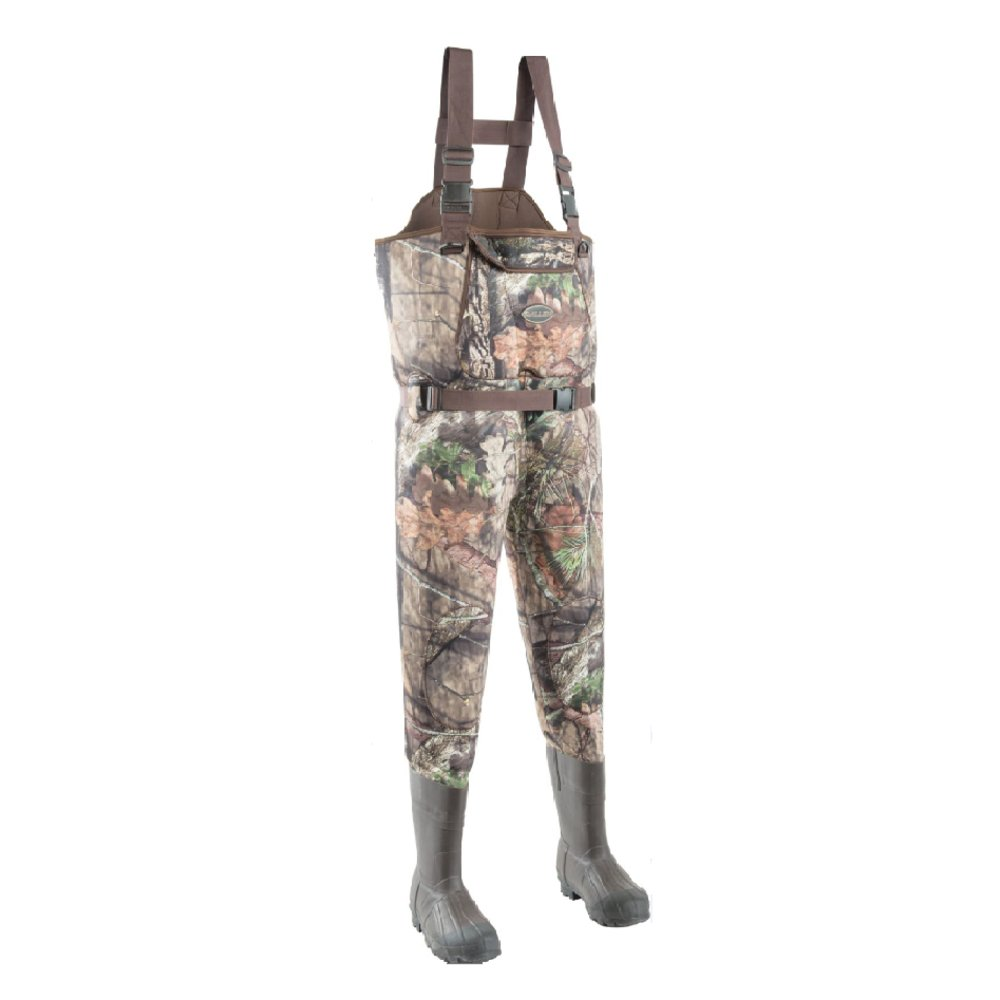 アレンDeepwoodsネオプレンChest Wader、Mossy Oak break-up国 B01MS6DSPS SIZE 10