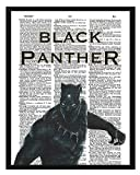 Black Panther Dictionary Art Marvel Comics Black