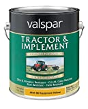 Valspar 4431-08 Equipment Yellow Tractor and Implement Paint - 1 Gallon