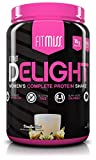 FitMiss Delight Protein Powder, Healthy Nutritional Shake for Women, Whey Protein, Fruits,...