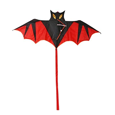 Huilier New Cool Bat Kite Outdoor Kites Flying Toys Kite for Children Kids: Arts, Crafts & Sewing