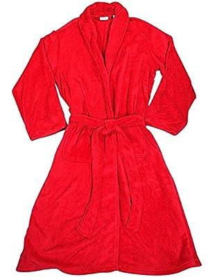 Izod - Mens Long Sleeve Plush Microfiber Robe