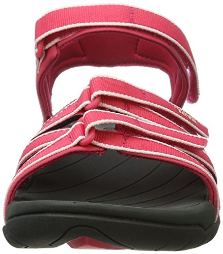 Teva Damen Tirra Athletic Sandale Rasberry / Dunkel
