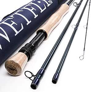 Wetfly Element SE Fly Fishing Rod 4 Piece with Rod Tube