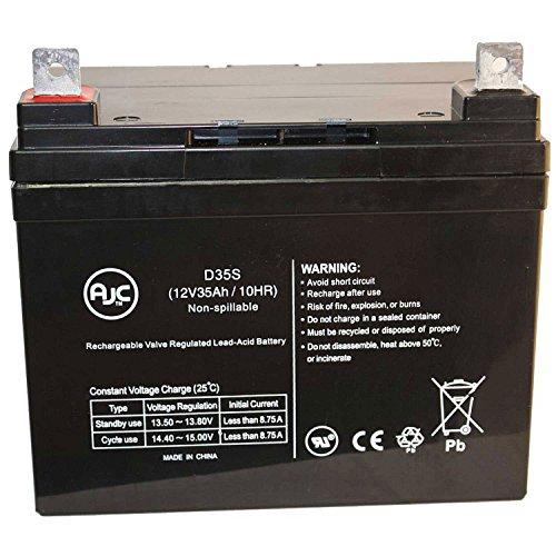 AJC Briggs & Stratton Generator Battery, 12V, (Best Ajc Battery Generators)