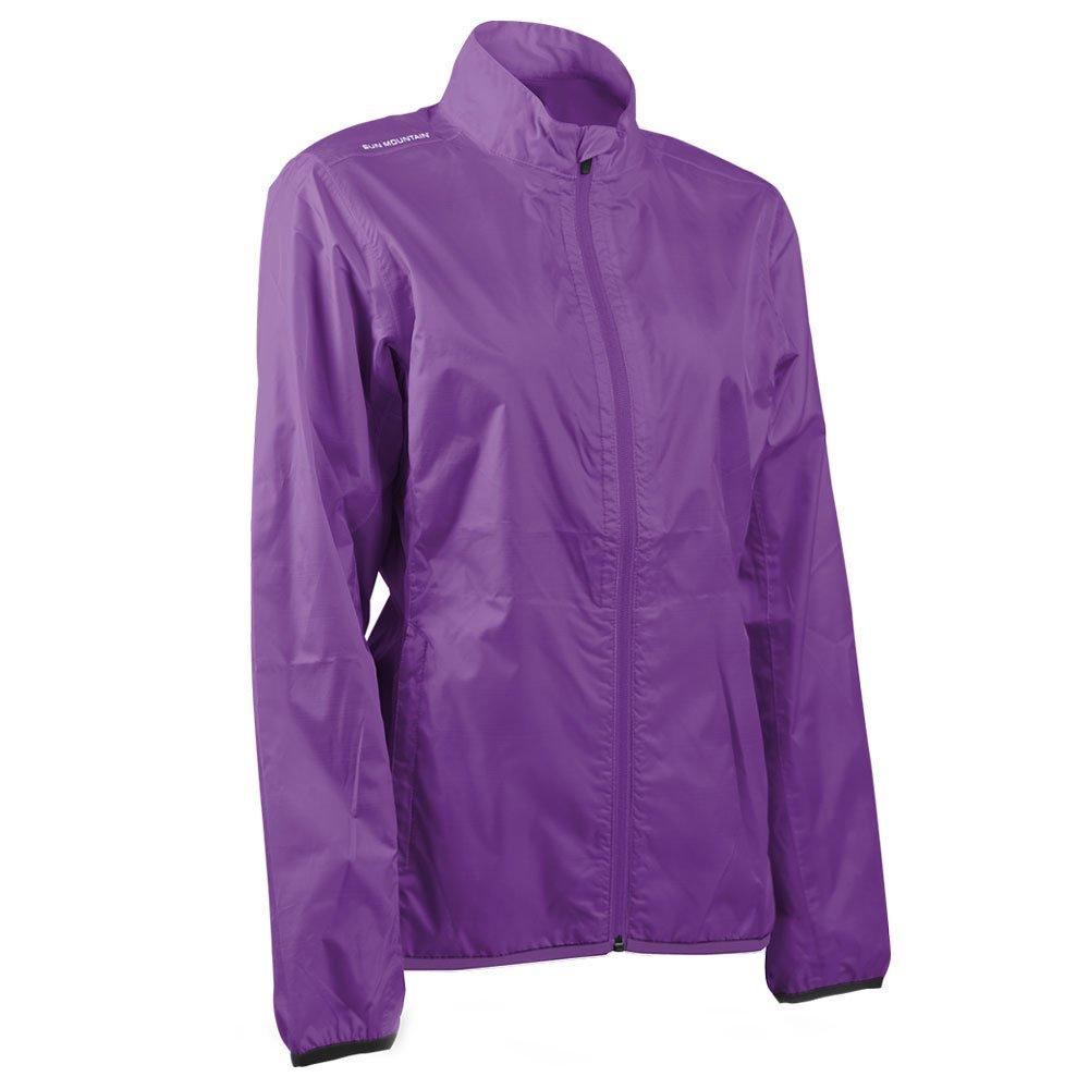 Sun Mountain Women's Cirrus Jacket - Amethyst (Large) by Sun Mountain
