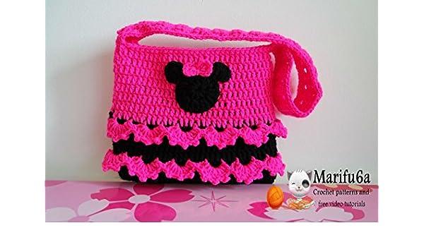 Crochet Minnie Mouse Bag Purse Pattern Crochet Minnie Mouse Bag
