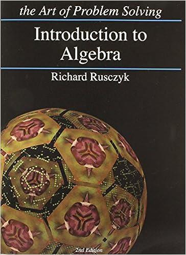 Introduction to Algebra: Richard Rusczyk: 9781934124017: Amazon com