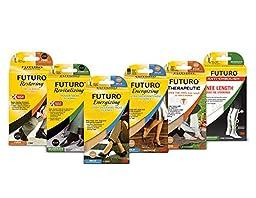 Futuro Men\'s Restoring  Dress Socks,  Black , Firm - Large