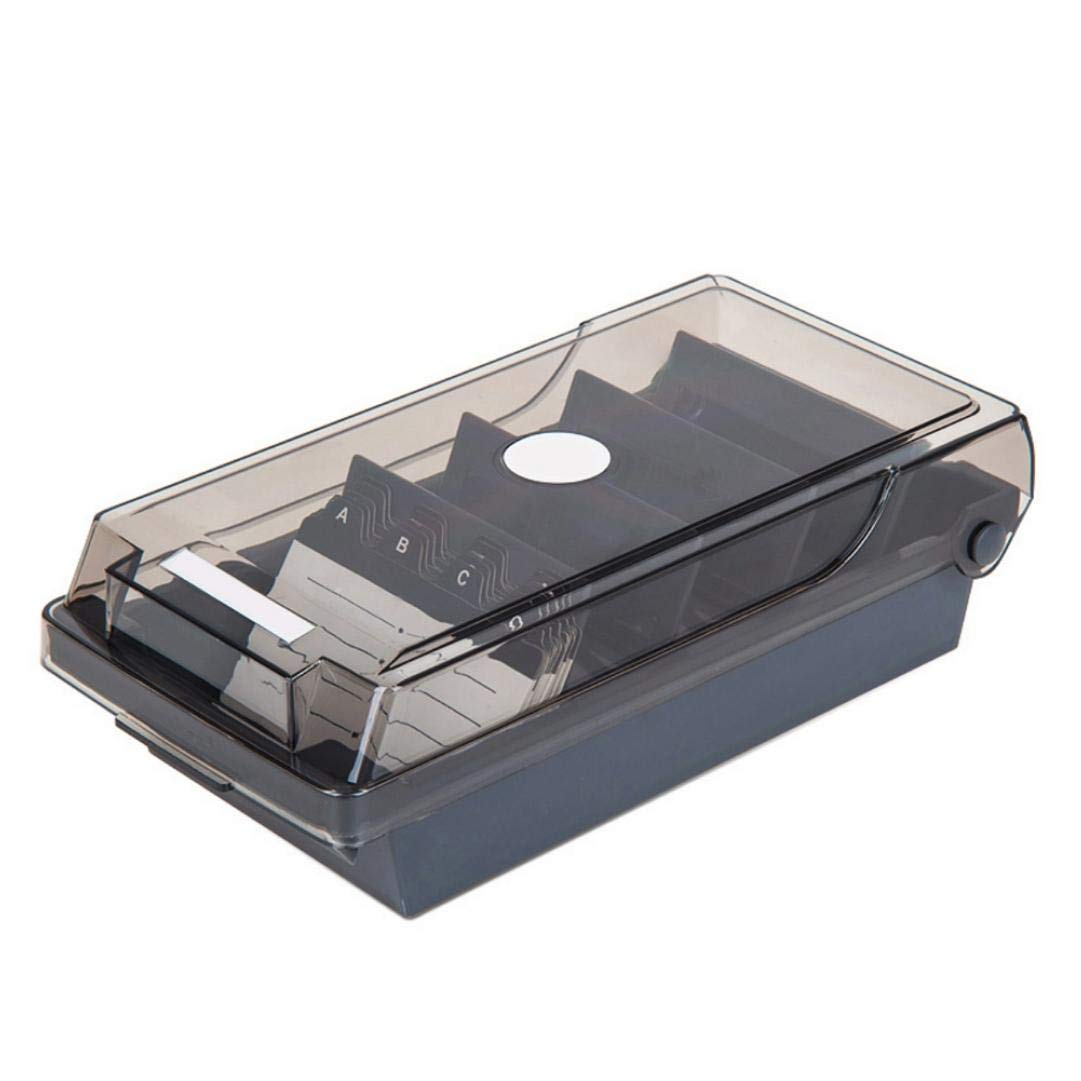1pcs Special-Purpose Business Card Holder Business Card Box Business Card File Business Card Storage Business Index Card Organizer