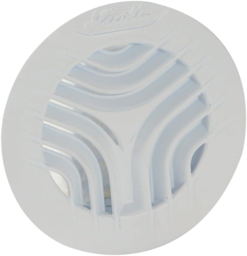 Blanc Nicoll 71674 Grille adapt s//tuyau d125 moust 1gatm125
