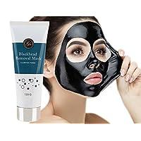 *Nouveau* Masque Point Noirs Peel Off Visage Exfoliant et purifiant au charbon actif contre les points noirs (120g) - Purifie et nettoie en profondeur les pores obstrués, en particulier dans les zones difficiles à atteindre comme le nez et le menton
