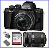 Olympus OM-D E-M10 Mark II Mirrorless Micro Four Thirds Digital Camera with 14-42mm II R Lens [Black] & Olympus M.Zuiko Digital ED 40-150mm f/4.0-5.6 R Lens [Black] Review