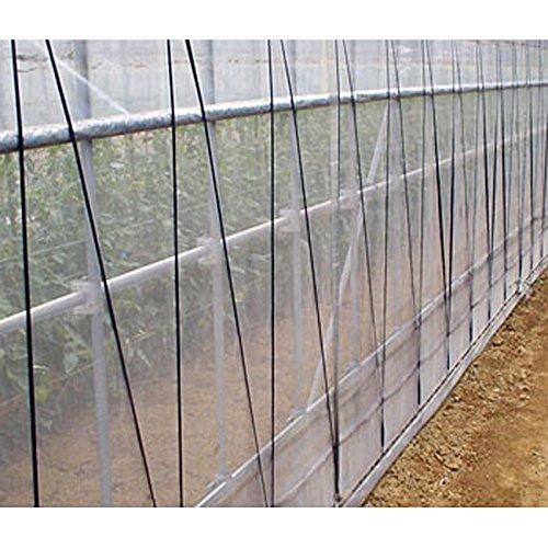 1.8m × 100m ナチュラル サンサンネット ソフライト SL6500 ビニールハウス トンネル などに 防虫ネット 日本ワイドクロス タ種 D B07763VJ23