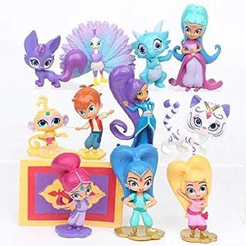 Amazon.com: Grocoto Figuras de acción y juguete – 12 piezas ...