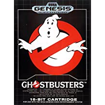 Ghostbusters (Sega Genesis / Megadrive) - Reproduction Video Game Cartridge with Clamshell Case and Manual