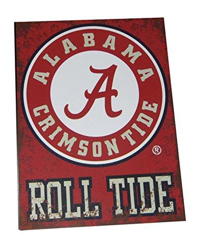 Alabama Roll Tide Distressed Metal Sign
