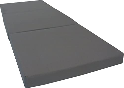 Brand New Gray Shikibuton Trifold Foam Beds