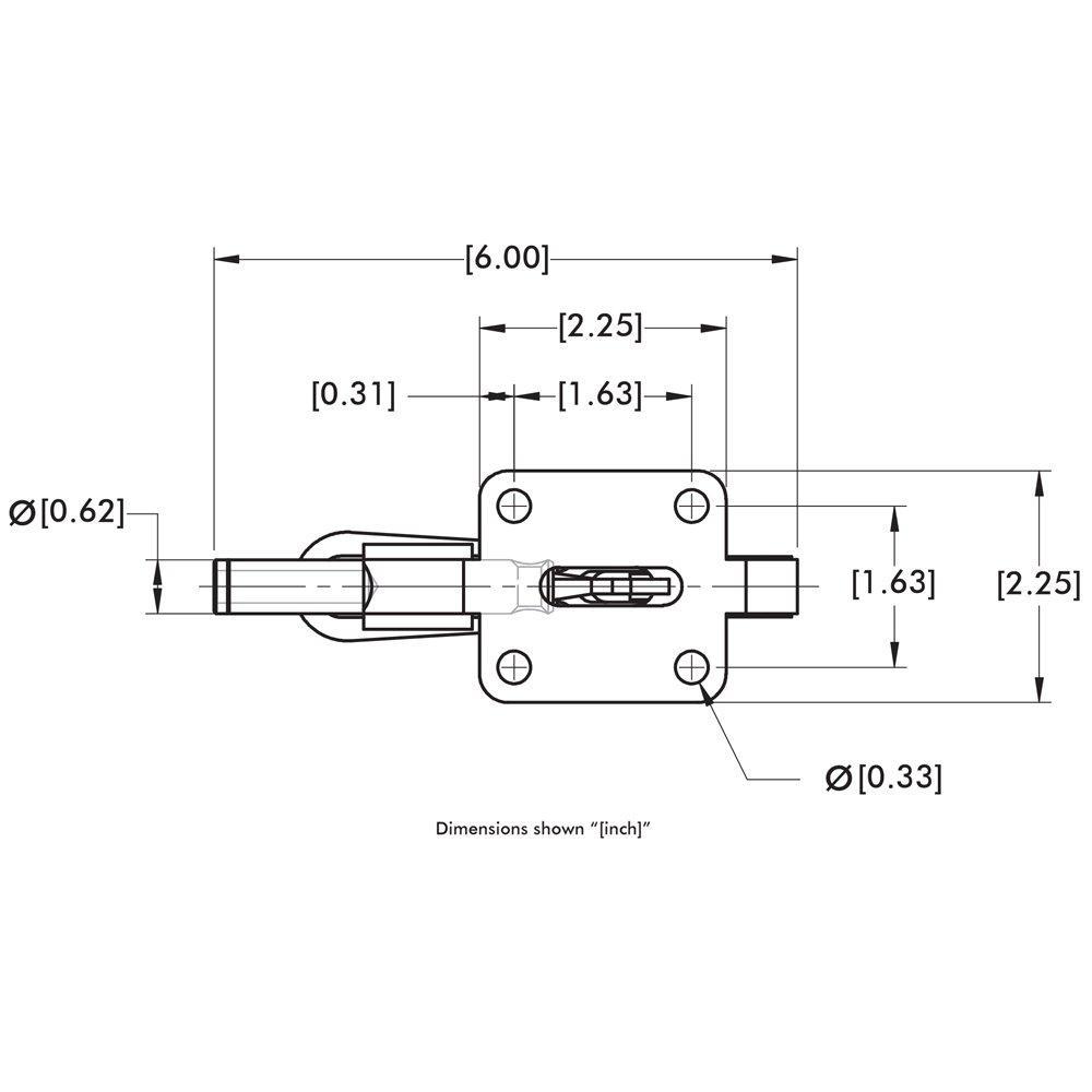 DE-STA-CO 608 Straight Line Action Clamp by De-Sta-Co (Image #5)