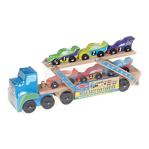 Mega Race-car Carrier (Melissa And Doug Car Carrier)