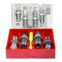 Lee Precision 9-mm Carbide 4-Die Set Luger (Grey)