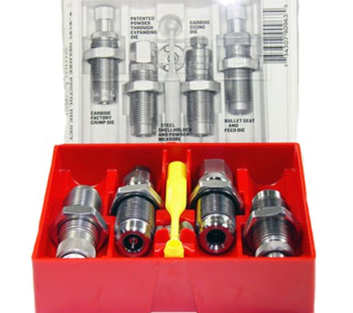 Lee Precision .38 Special Carbide 4-Die Set (Silver)