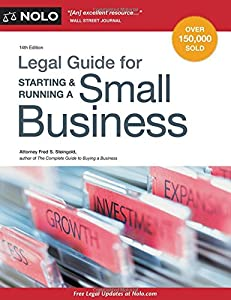Legal Guide for Starting & Running a Small Business by NOLO