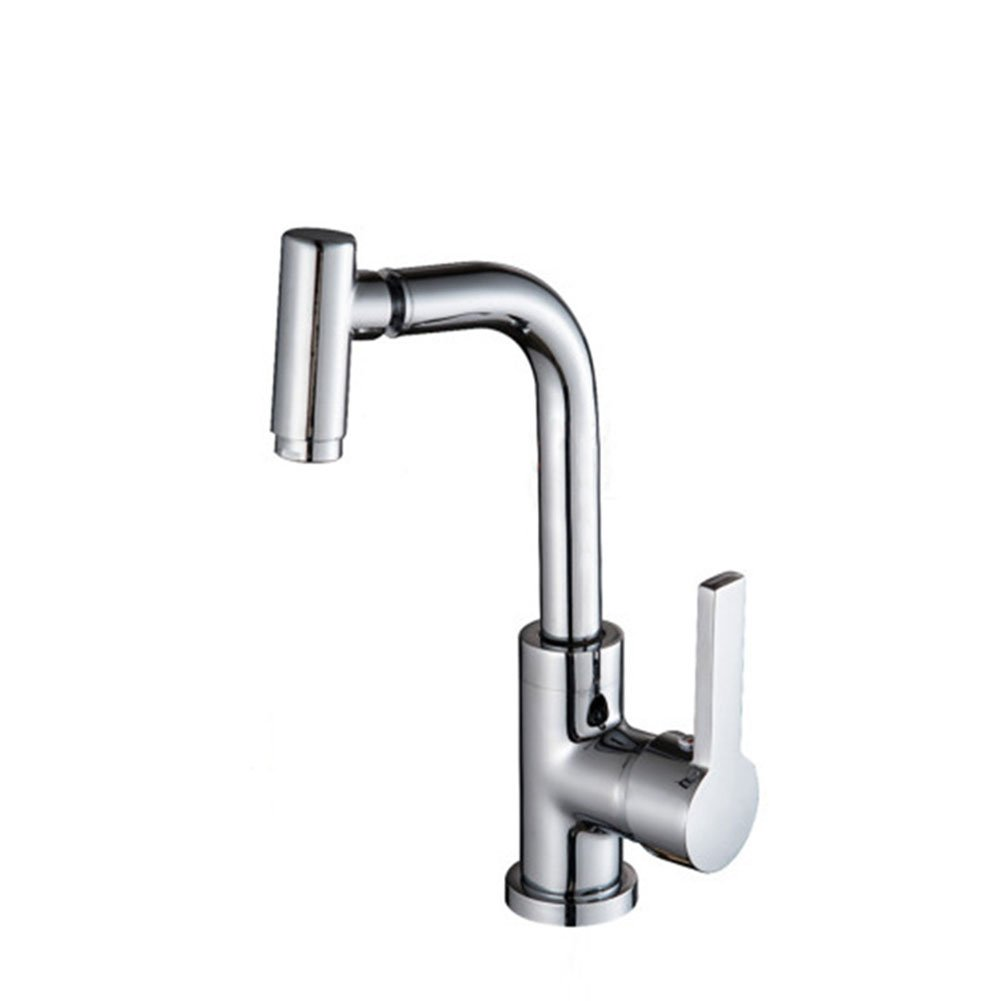 Tianch 360 Degree Rotating Copper Faucet hot and Cold Water Adjustment Basin Faucet Faucet Universal Faucet