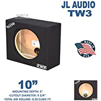 10 Sub box single sealed subwoofer enclosure For JL AUDIO TW3