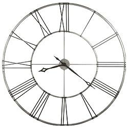 Stockton Wall Clock in Charcoal Black<br> Howard Miller 625472