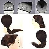 5 Pack Wig Caps - LeBeila Black Breathable Mesh Net