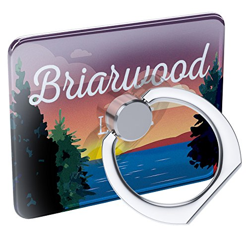 (Cell Phone Ring Holder Lake Retro Design Briarwood Lake Collapsible Grip & Stand)