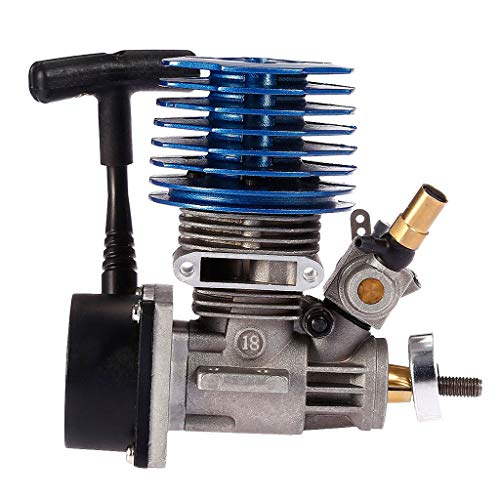 SAQIMA Power for HSP HPI Redcat Hobao Traxxas RC 1/10 Nitro Buggy SH 18 Side Engine Motor Professional - Buggy Mini Nitro