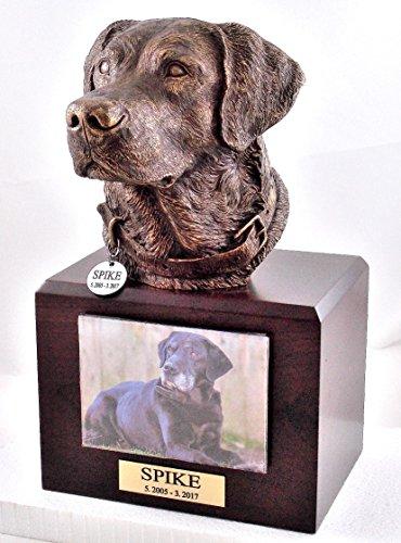 Labrador Retriever Dog Memorial Urn