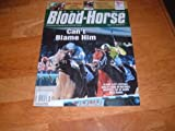 img - for The Bloodhorse magazine, August 14, 2010-Blame Beats Quality Road in Whitney & Zenyatta-Still Perfect-She Wins Her 18th Start at Del Mar in Hirsch book / textbook / text book